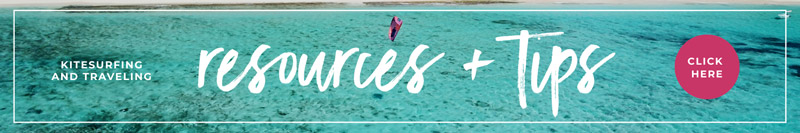 Kitesurf Resources and tips: kitesurf info and links for kitesurf holidays and travellers