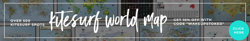 Kitesurf World Map: where to kitesurf when, where to kitesurf, discount code