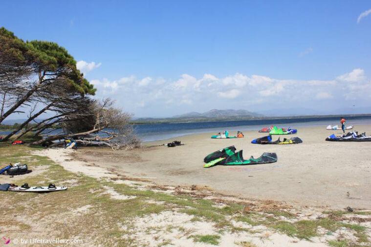 Melanie's and Juergen's favorite spot Punta Trettu in Sardinia