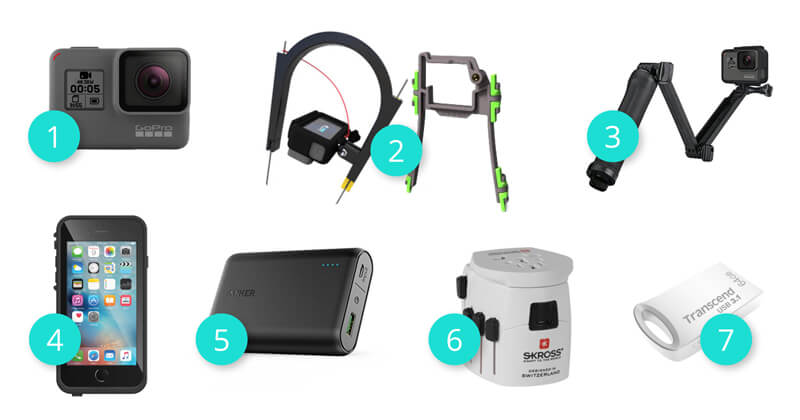 Gifts for techy kitesurfers who love to capture good shots