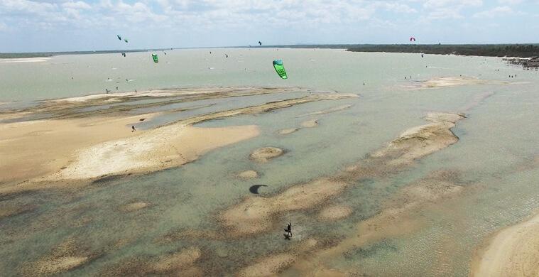 Lagoa Grande close to Tatajuba