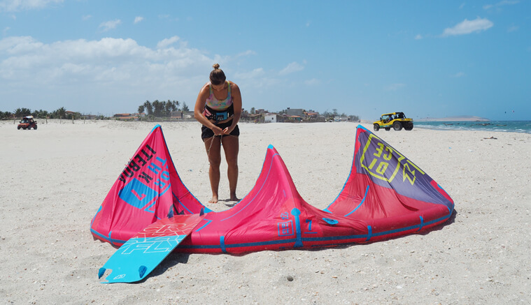 I found my favorite kitesurf equipment