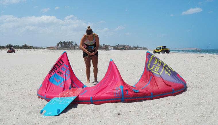 I found my favorite kitesurf equipment
