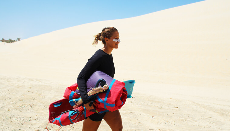 Going with the right mindset to your kitesurf session