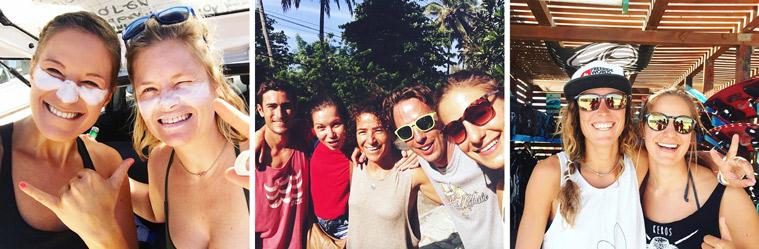 Meeting kitesurf buddies all over the world