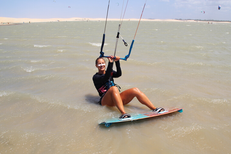 What criteria to check if you want to learn kiteboarding.
