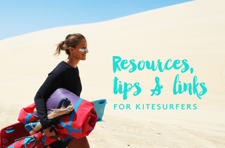 Here are all the kitesurf resources, tips and links you'll need for your kitesurf travels