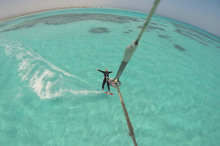 How to find the best kitesurf spots – like this one in Hamata, Egypt