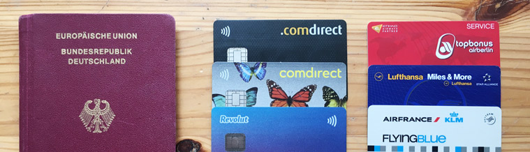Credit cards I use on my kitesurf travels