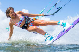 One of my favorite kitesurf bikinis from Sensi Graves