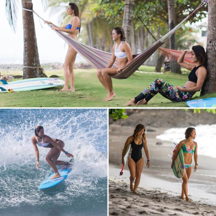 Kitesurf bikinis and surfwear from Costa Rica by Dkoko