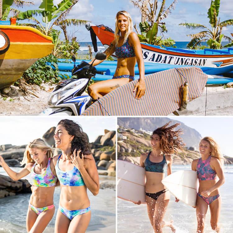 Kitesurf bikinis by Josea Surfwear