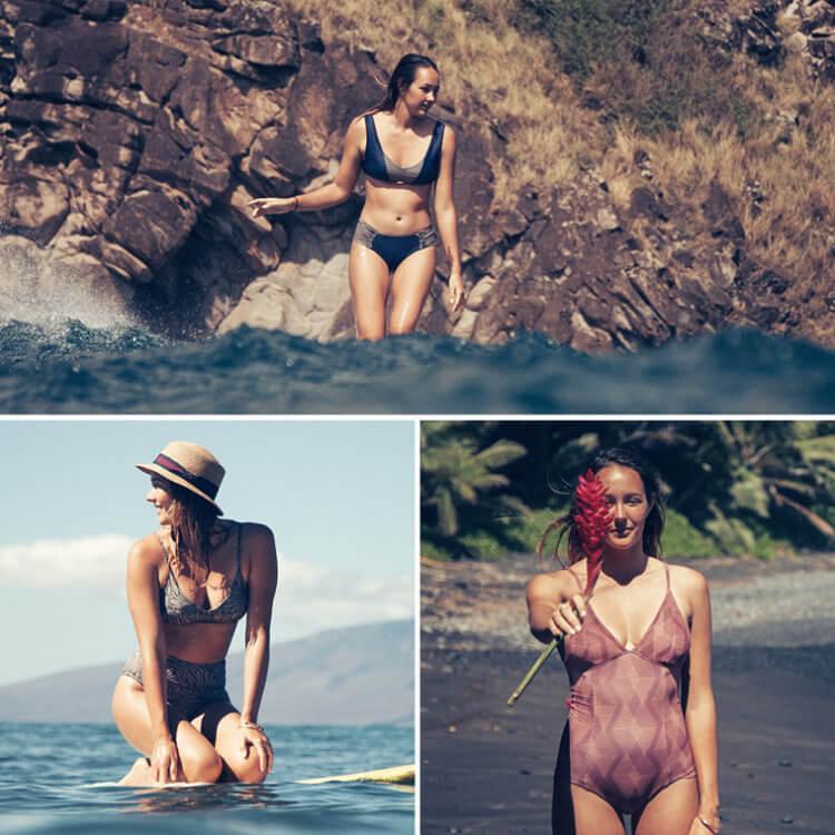 Kitesurf bikinis and surfwear by The Seea