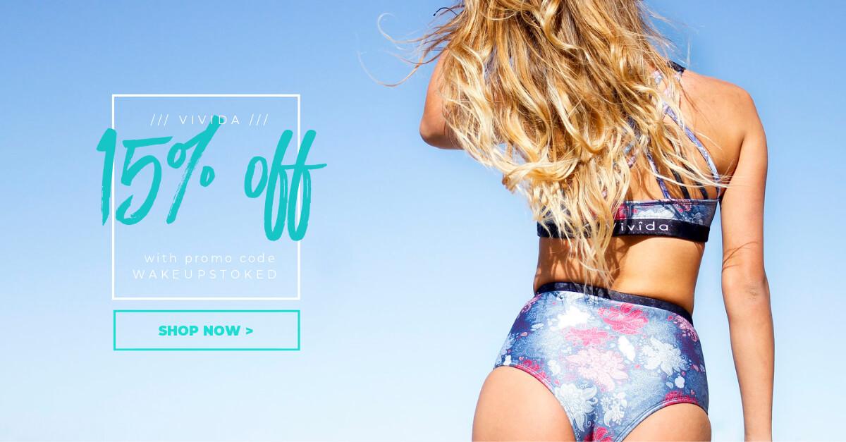 Surf Bikini and Surfwear Discount for Vivida Lifestyle
