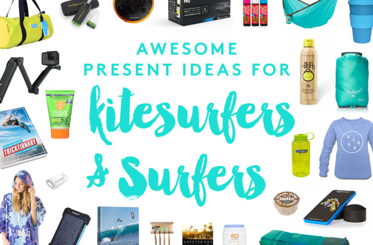 Awesome present ideas for Kitesurfers and Surfers