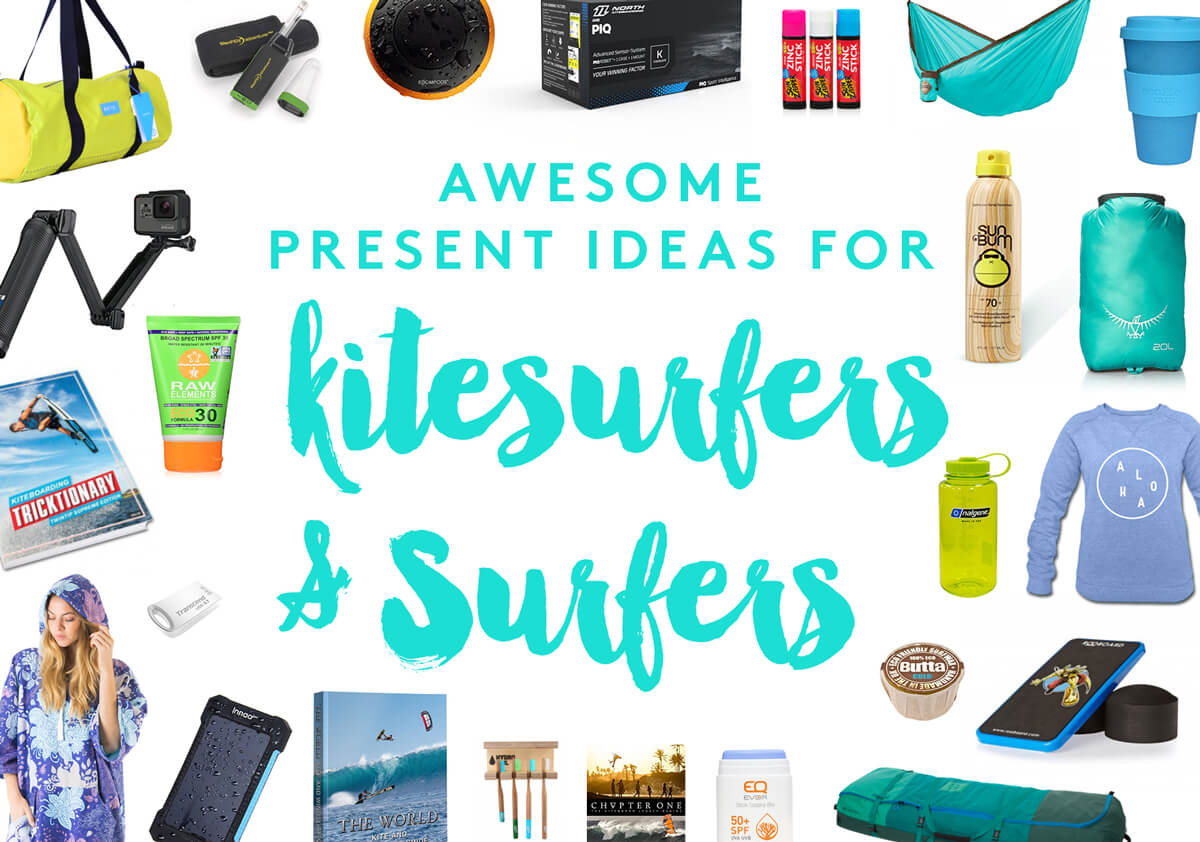 presents kitesurfers surfers awesome gift ideas for oceanlovers