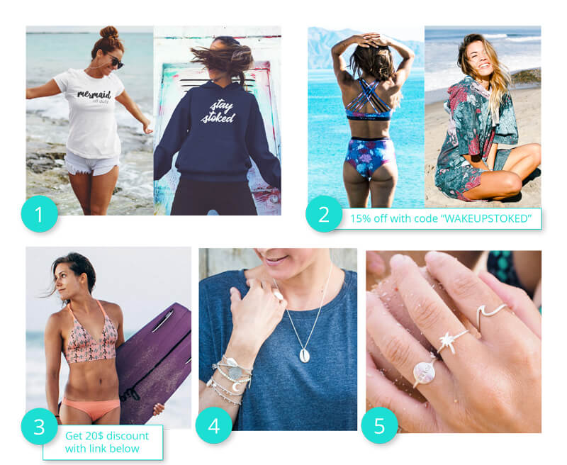 Present ideas for saltwater fairshionistas, mermaids and kite girls