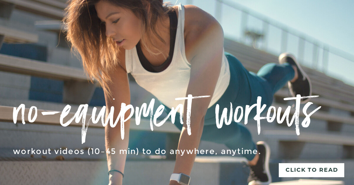 Stay fit while traveling - no equipment workouts you can do anywhere
