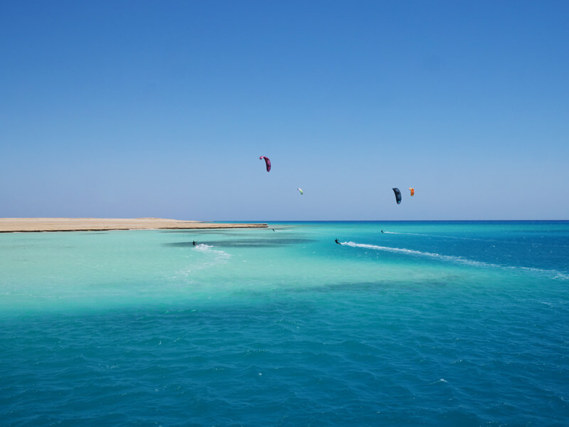 Our last day of the kite safari at Tawila Marina