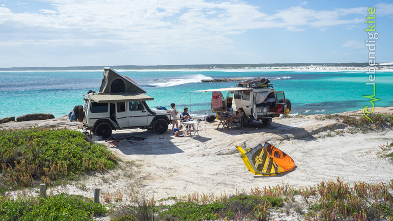 Kitesurf in Western Australia at the most remote kite spots