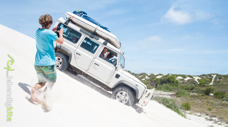 Offroad adventure: the way to get to your kite spots in Western Australia