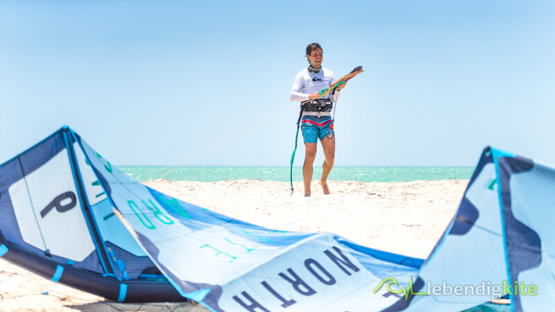 Western Australia offers the perfect weather for kitesurfing