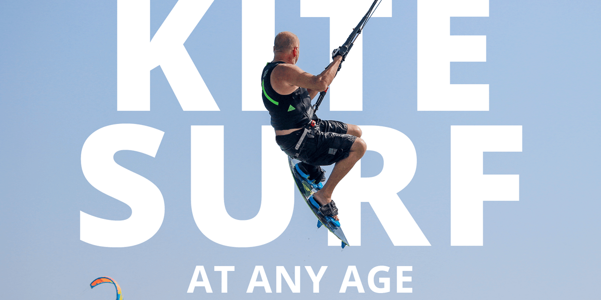 John is prooving you can kitesurf at any age, currently being 69.