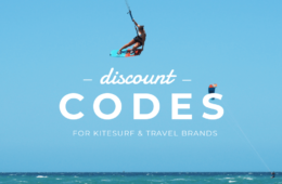 Discount Codes for kitesurfers and traveleres