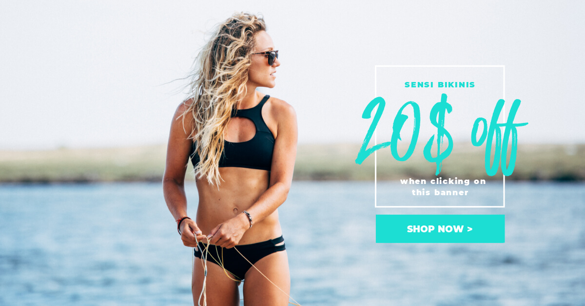 Discount for Sensi Bikinis
