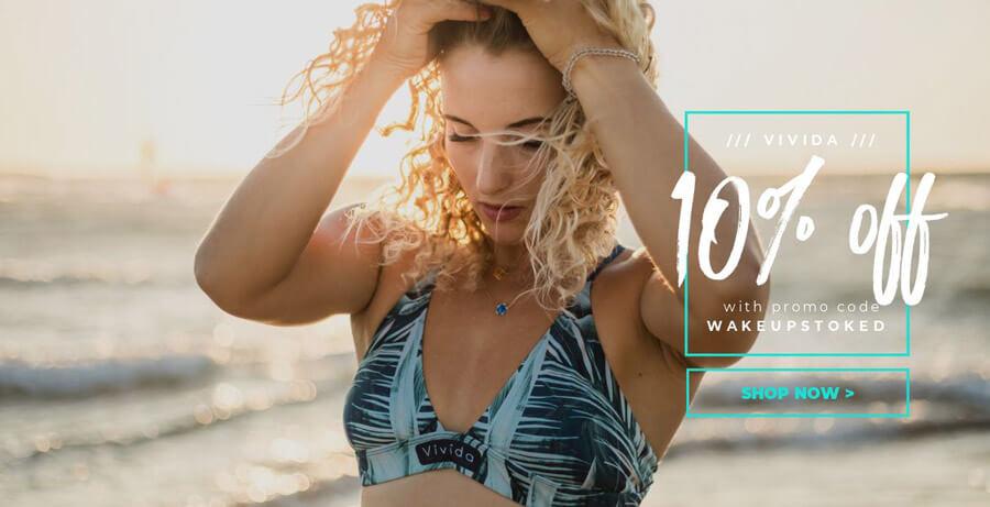 Discount Code for Vivida Surf Bikini and Surfwear