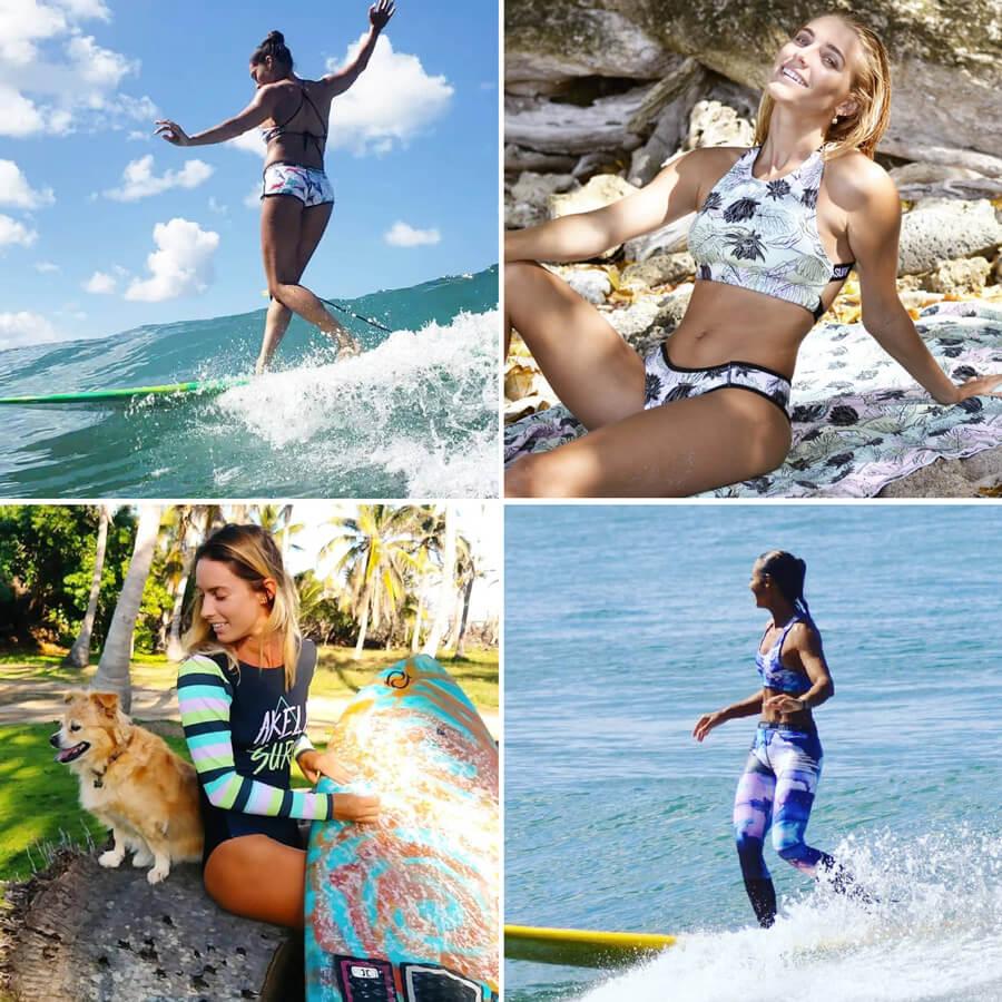 kitesurf bikini akela surfwear surf bikini