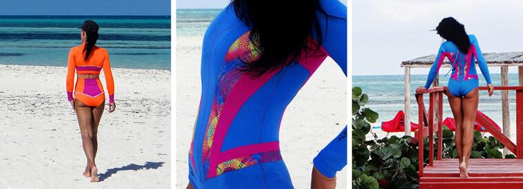 Colorful Surfwear by Alooppa