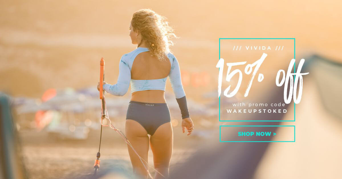 Discount Code for Vivida Lifestyle by Wake Up Stoked