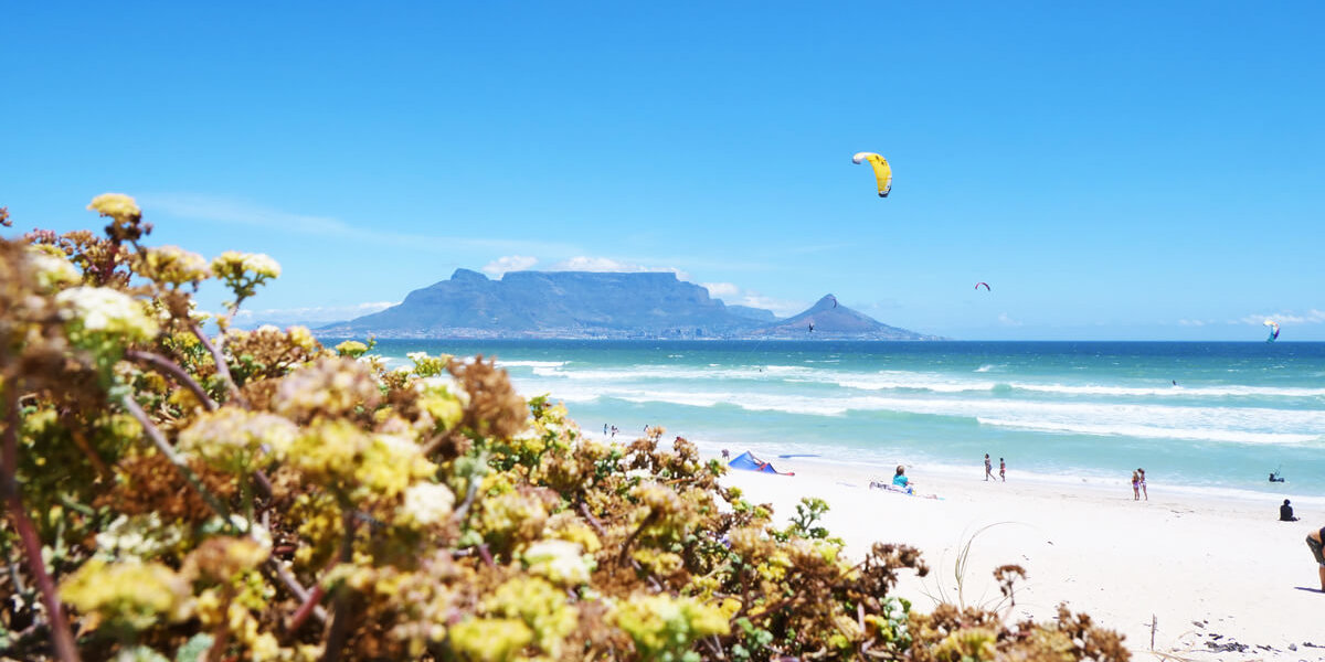 Kitesurf in Cape Town – spot guide for your kitesurf holiday in South Africa