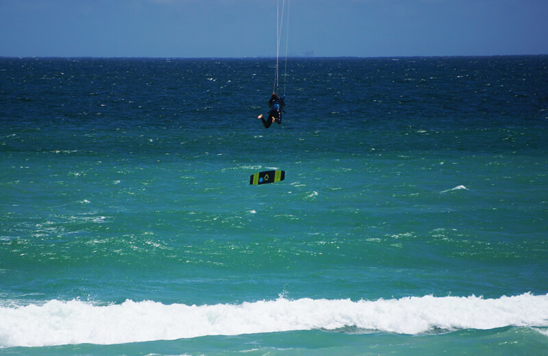 kitesurf crashes and big fails – how to overcome them