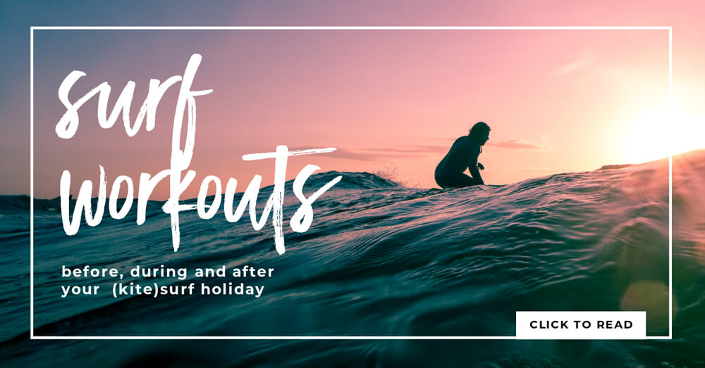 Stay fit before or while traveling – surf workouts to get you ready for the water
