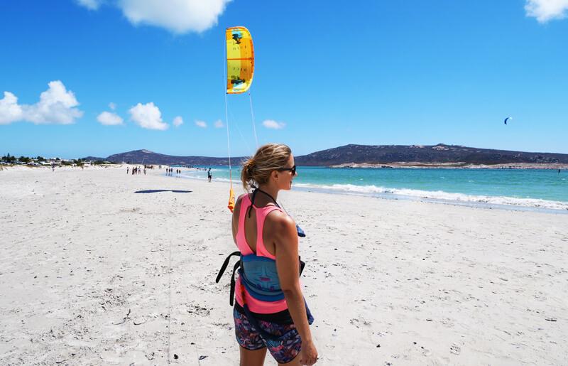 kitesurf girls learn and progress in kiteboarding