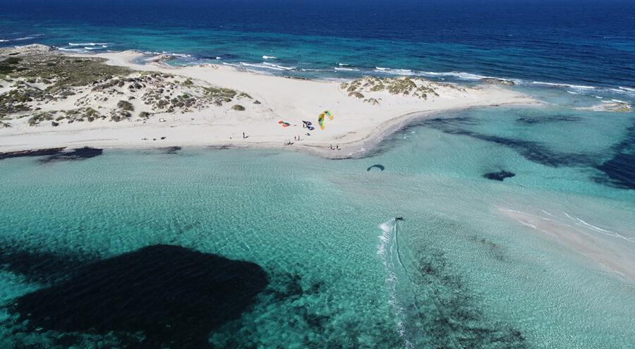 inbetween ibiza an formentera on the kitesurf cruise experience