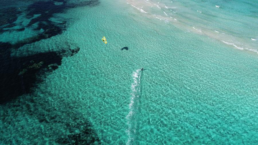 kitesurf ibiza on a cruise