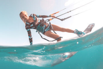 Interview with kitegirl Agata Dobrzynska