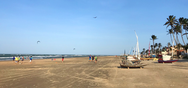 Kitesurf Spots Brazil: Guajiru and Fleixeiras