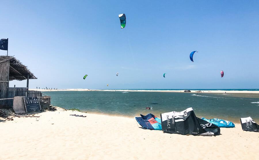 Kitesurf Spots Brazil: Taiba lagoon