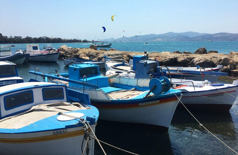 Kitesurf Paros, Greece: kitesurfing on the Greek island