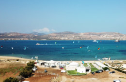 Kitesurf Paros, Greece: kitesurfing on the Greek island