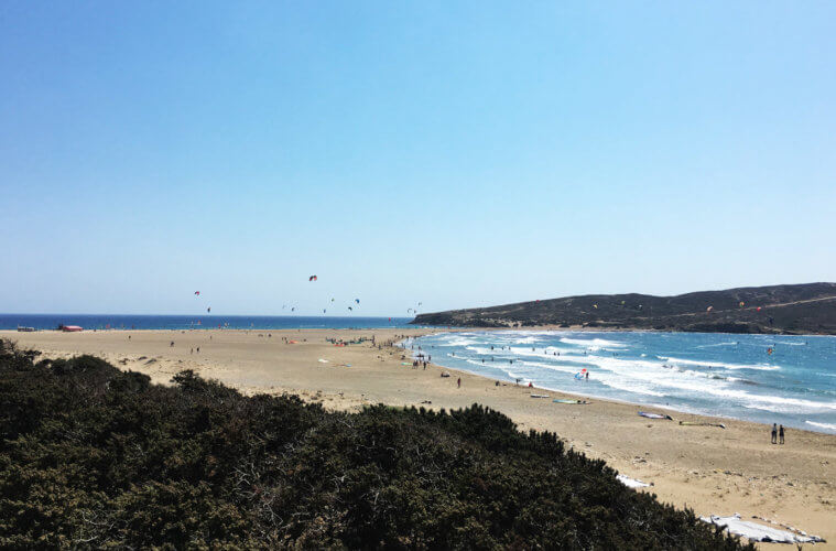 Kitesurf Rhodes, Prasonisi in Greece: spot guide to the windiest spot of the island